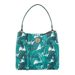 0be1fcabaf6188 Shopper bag L.Credi boho skórzana na ramię