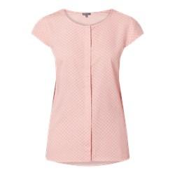 d4413ce64c8196 Koszula damska Montego z wiskozy bez wzorów z krótkim rękawem