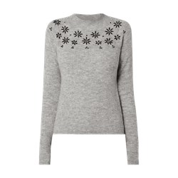 463d816e42361b Review sweter damski z okrągłym dekoltem