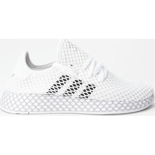 wylot Białe buty sportowe damskie Adidas na płaskiej