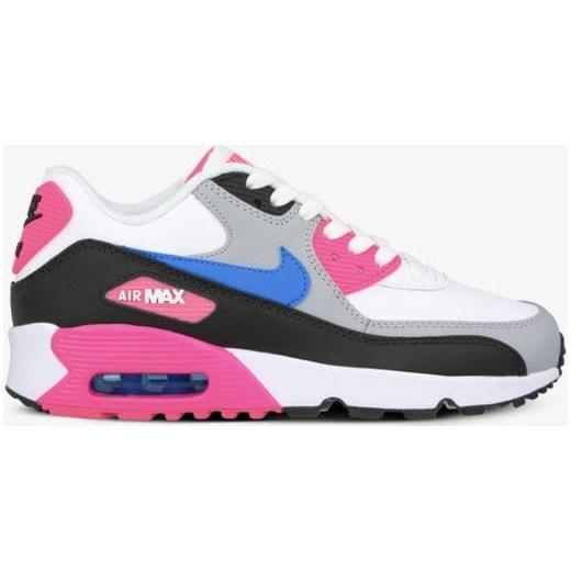 Buty sportowe damskie Nike air max białe sznurowane gładkie płaskie