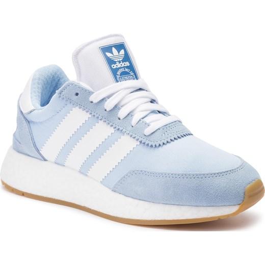 dobry Buty sportowe damskie Adidas bez wzorów wiązane Buty