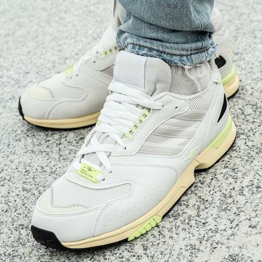 wylot gorące wyprzedaże jakość wykonania Białe buty sportowe męskie Adidas skórzane
