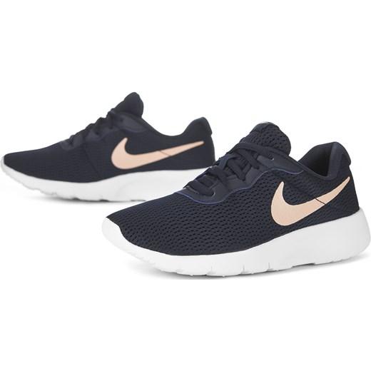 przystępna cena ponadczasowy design kup tanio Buty sportowe damskie Nike tanjun sznurowane granatowe bez ...