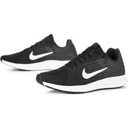 b44b77513b330e Buty sportowe damskie Nike downshifter sznurowane bez wzorów na płaskiej  podeszwie