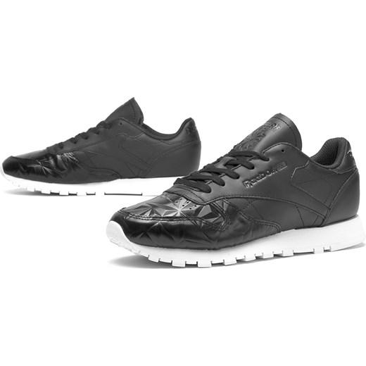Buty sportowe damskie Reebok płaskie gładkie sznurowane