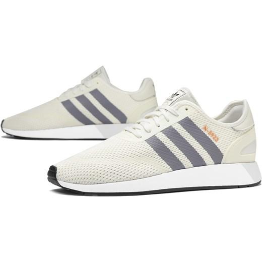 Buty sportowe męskie Adidas beżowe na wiosnę finezja