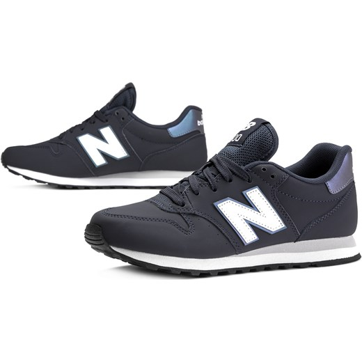 nowy Buty sportowe damskie New Balance do biegania granatowe