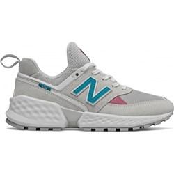 e8d2372dee47d4 Buty sportowe damskie New Balance casualowe sznurowane płaskie
