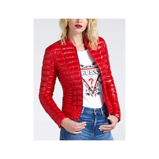 Kurtka damska Guess krótka Odzież Damska VM czerwony Kurtki