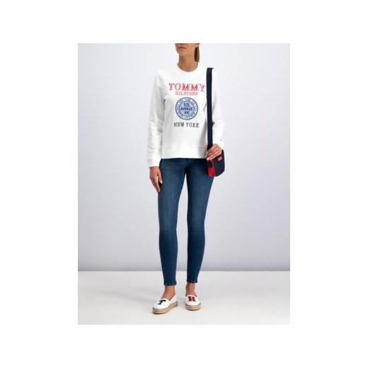 Bluza damska biała Tommy Hilfiger krótka Odzież Damska XI