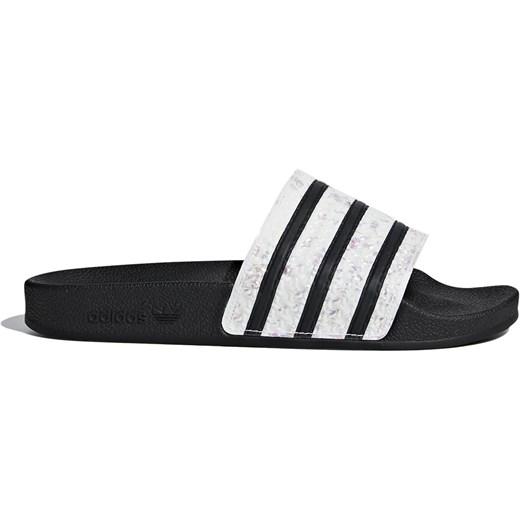 dobrze rozwinięty Klapki damskie Adidas płaskie na lato Buty