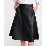 7dca2ca8 Reserved spódnica ze skóry wiosenna