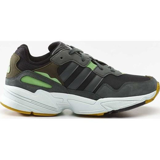 Buty sportowe męskie Adidas z nubuku sznurowane