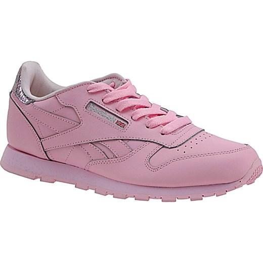 nowy Buty sportowe damskie Reebok sznurowane na płaskiej