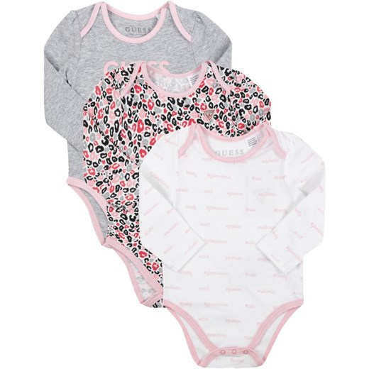 Komplet 3 par body Guess Guess  3-6m MODIVO