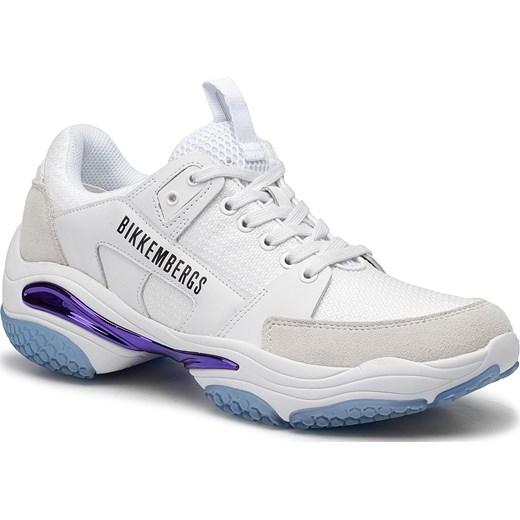 Buty sportowe męskie Bikkembergs białe sznurowane