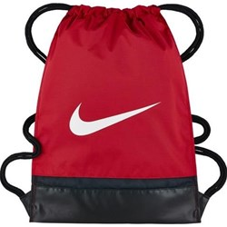 znana marka wylot rozmiar 7 Worek na sprzęt piłkarski A.S. Roma Stadium - Czerwony Nike brazowy