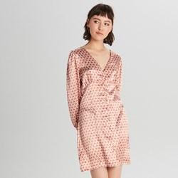 6d5b81c3 Różowa sukienka Cropp satynowa na imprezę