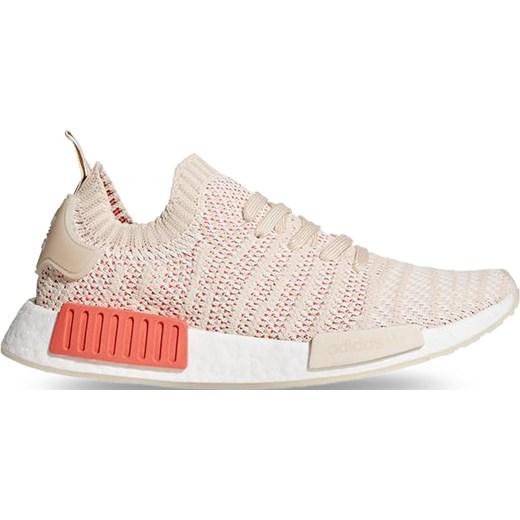 Buty sportowe damskie Adidas nmd różowe wiązane na wiosnę