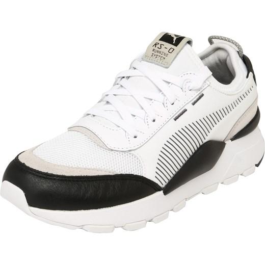 Buty sportowe damskie Puma młodzieżowe sznurowane bez wzorów
