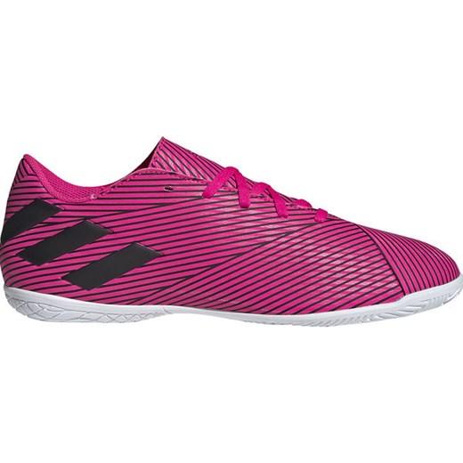 stabilna jakość nowy haj słodkie tanie Buty sportowe męskie Adidas nemeziz wiązane różowe