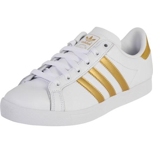 ograniczona guantity klasyczne buty ogromny zapas Trampki damskie Adidas Originals ze skóry bez wzorów wiązane płaskie