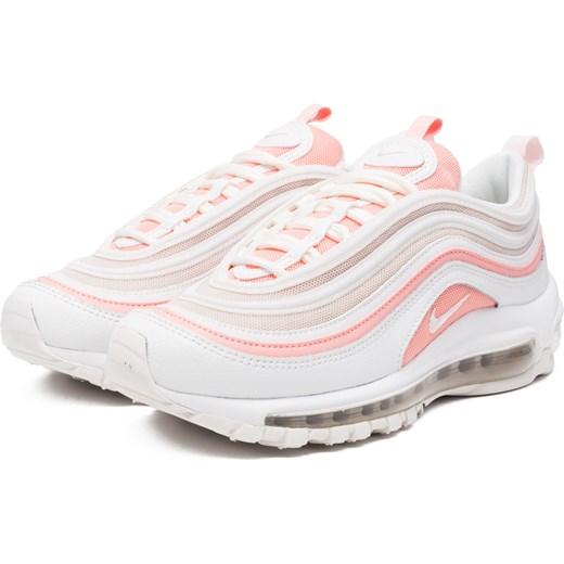 Buty sportowe damskie białe Nike do biegania sznurowane