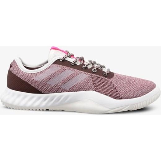 Buty sportowe damskie Adidas do biegania bez wzorów płaskie wiązane