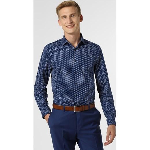 Finshley & Harding Koszula męska, niebieski vangraaf w Domodi