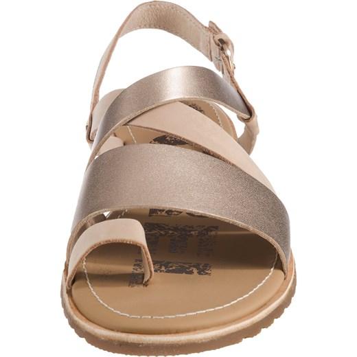 Sandały damskie Sorel letnie skórzane casual płaskie