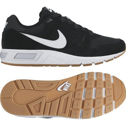 Buty sportowe męskie Nike nightgazer z nubuku sznurowane