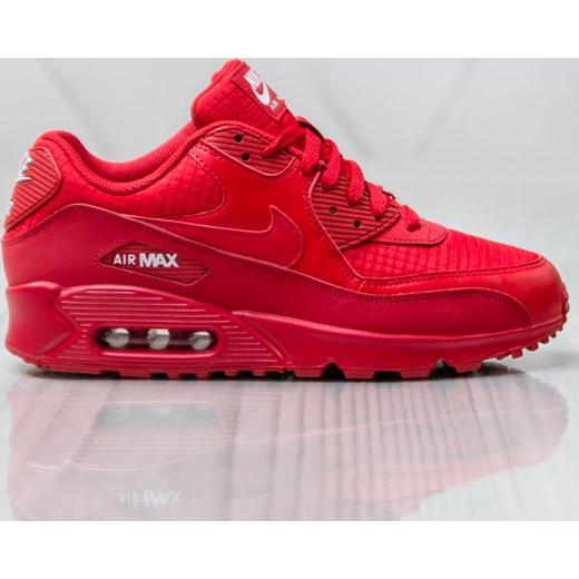 Buty sportowe męskie Nike air max 91 sznurowane czerwone