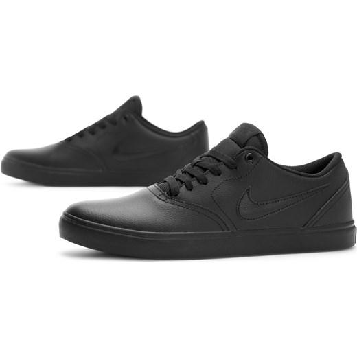 Trampki męskie Nike sb czarne sportowe