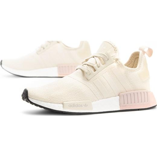 Buty sportowe damskie Adidas dla biegaczy bez wzorów