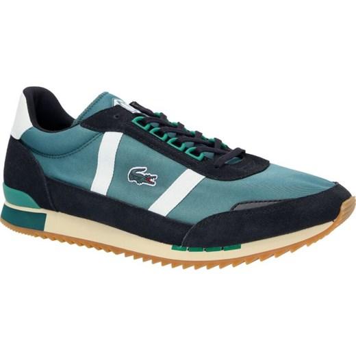 wspaniały wygląd lepszy zaoszczędź do 80% Buty sportowe męskie Lacoste niebieskie