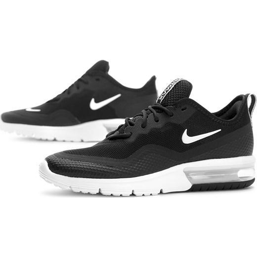 Nike buty sportowe męskie air max sequent czarne wiązane