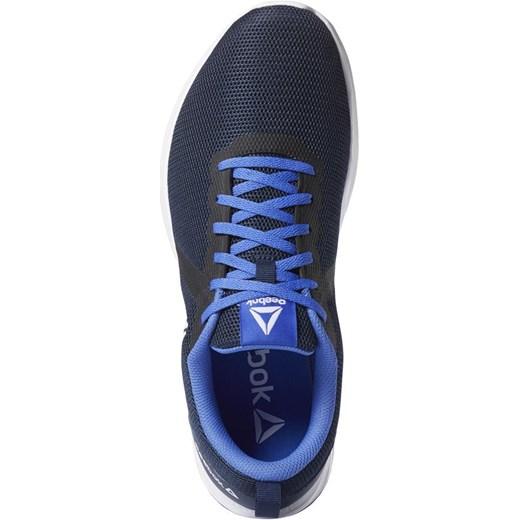 Niebieskie buty sportowe męskie Reebok sznurowane