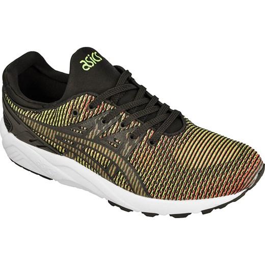 Buty sportowe męskie zielone Asics gel kayano sznurowane