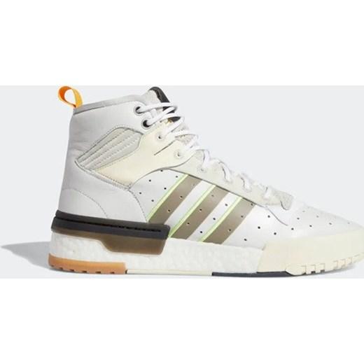 Buty sportowe męskie Adidas Originals beżowe wiosenne sznurowane