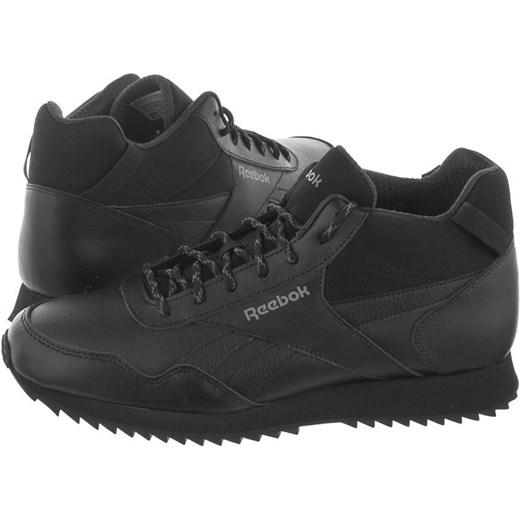 Buty zimowe męskie Reebok czarne skórzane