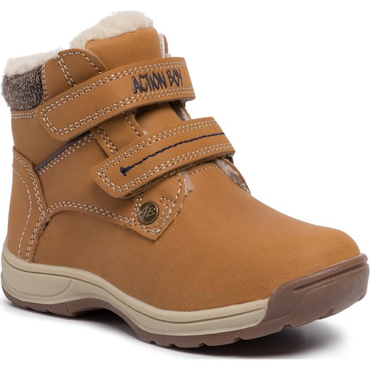 Kozaki ACTION BOY - CP07-71024-02 Camel  Action Boy 29 eobuwie.pl