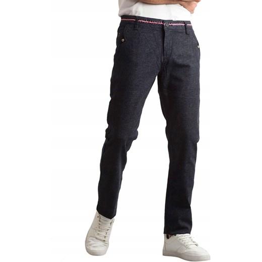 Spodnie męskie bez wzorów casual