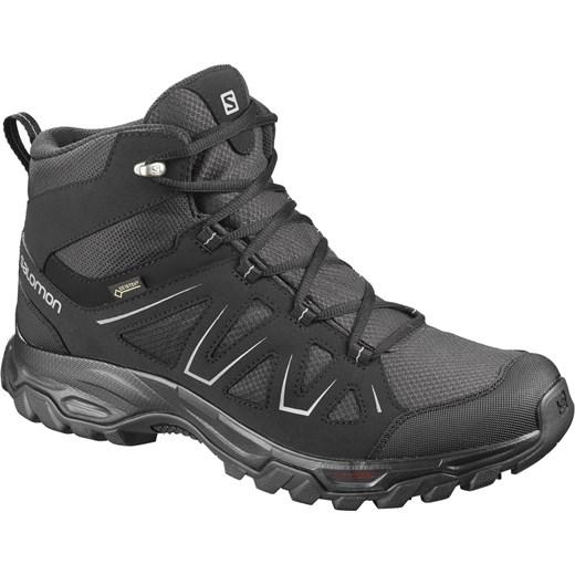 Buty zimowe męskie Salomon gore tex sznurowane casualowe
