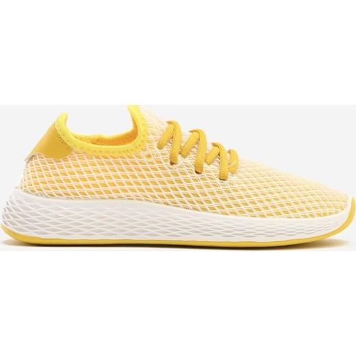 Buty sportowe damskie Born2be do fitnessu płaskie sznurowane