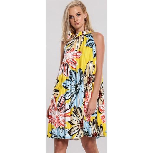 Żółta Sukienka Unreasonable Renee odzież