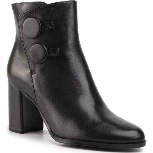 Czarne Buty Sportowe Z Siateczką Danielle w sklepie DeeZee.pl