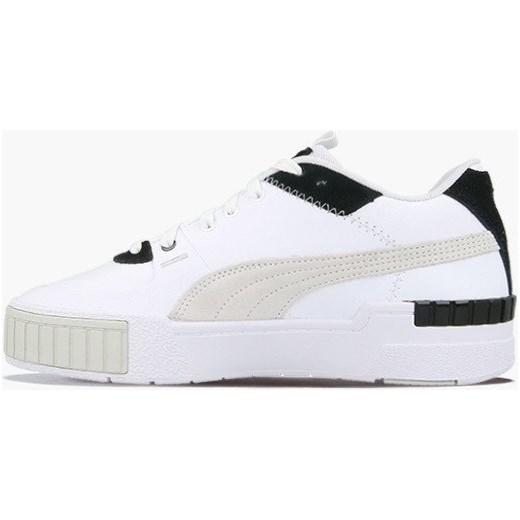 Sneakersy damskie Puma sznurowane na platformie sportowe bez wzorów