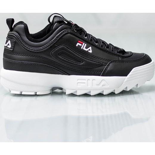 Buty sportowe damskie Fila sneakersy młodzieżowe płaskie bez wzorów