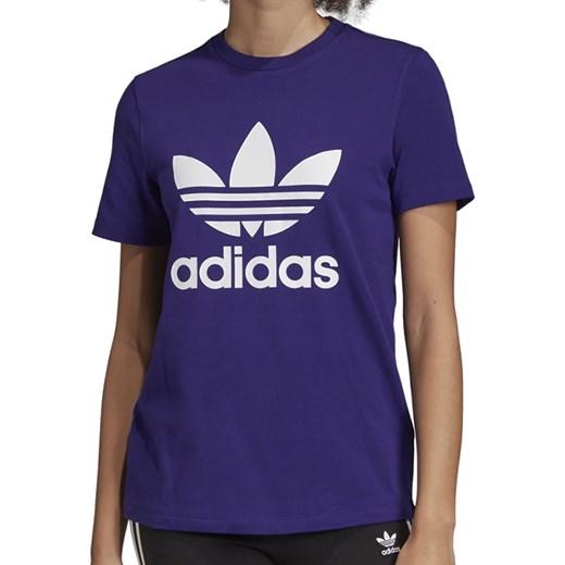 Adidas bluzka sportowa z bawełny w Domodi